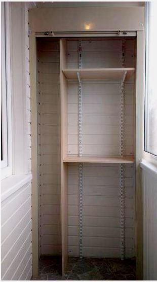 Рольставни для шкафа на балкон своими руками