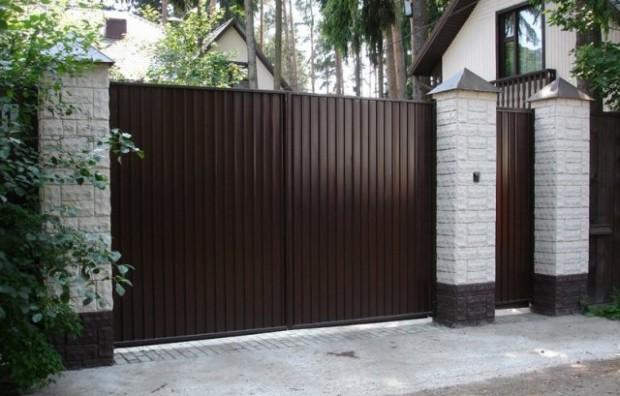 Купить недорогие автоматические ворота для дачи в Киеве. GNG Service